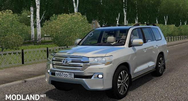 2016 Toyota Land Cruiser 200 [1.5.9]